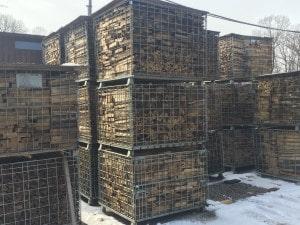 薪ストーブの薪燃料