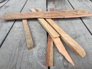 薪ストーブ着火用の薪
