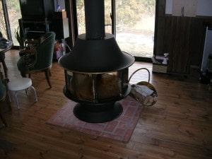 薪ストーブの設置場所