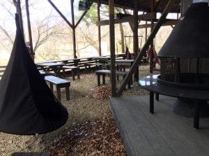 フィンランドの森ハンモックカフェ