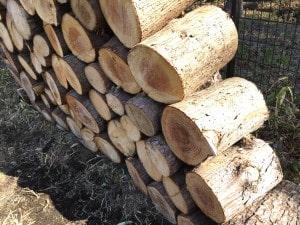 薪ストーブで針葉樹の使用