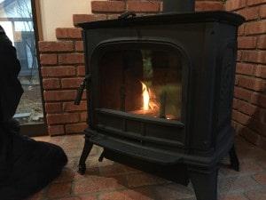 ハーマンの薪ストーブ燃焼時間