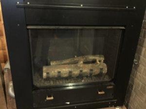 暖炉型ガスストーブ