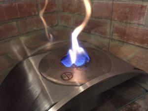 エタノール暖炉のメリット