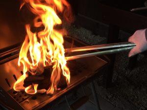 BBQコンロで料理のやり方