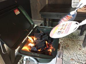 炭の火の付け方